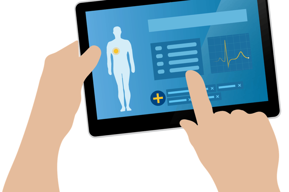 telehealth doctors tablet